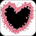 ロマンチックな愛のフォトフレーム icon