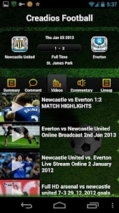 ESPN FC Live Score & Highlight - screenshot thumbnail