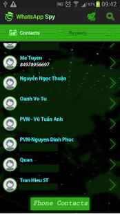 WhatsSpy - Last seen Spy screenshot 2