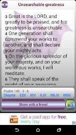 Uplifting Psalms Daily Screenshot 1