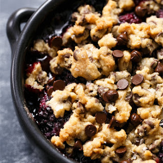 Blackberry Chocolate Chip Cookie Crumble.