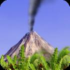 Smoking Volcano Live Wallpaper icon