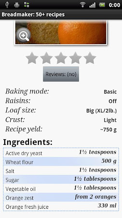 Breadmaker: 50+ recipes 13 screenshot 463176