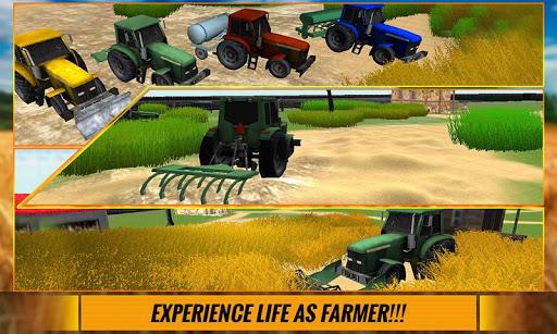 农用拖拉机司机 - 模拟器