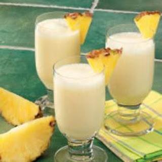 Pineapple Smoothies.