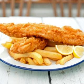 Classic British Fish and Chips.