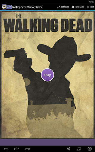 Walking Dead Memory Game