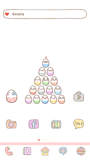 Egg Top dodol launcher theme