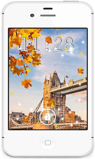 Autumn England live wallpaper