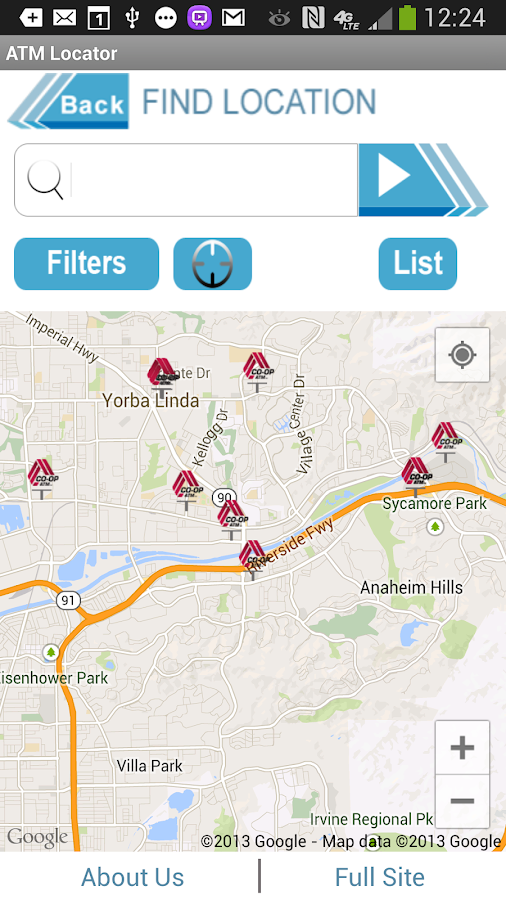 CO-OP ATM Locator - screenshot