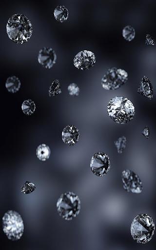 Diamonds Live Wallpaper  screenshots 1