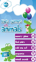Screenshot of Kids Games with Animals
