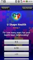 Screenshot of UShapeHealth