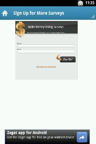 Make Money Doing Surveys - screenshot