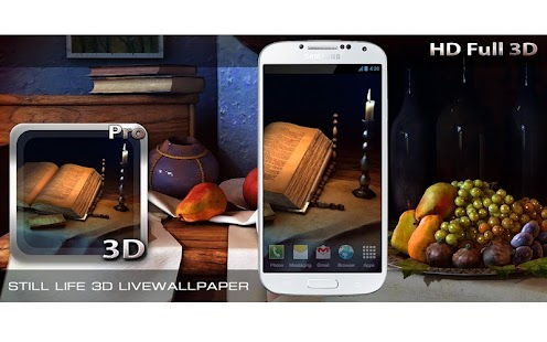 Still Life 3D Livewallpaper Screenshot