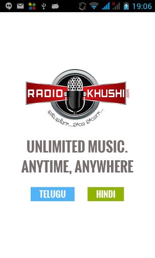 RadioKhushi Hindi Telugu Radio
