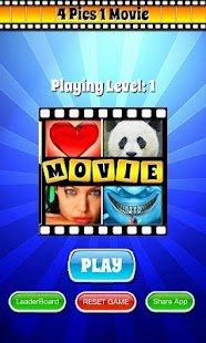 4 Pics 1 MOVIE Guess What Word - screenshot thumbnail