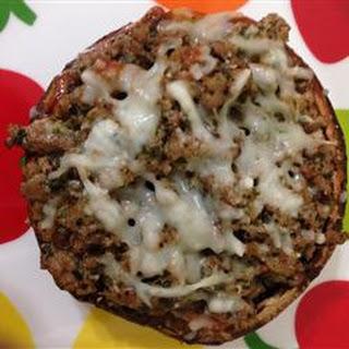 Turkey Portobello Pizza.