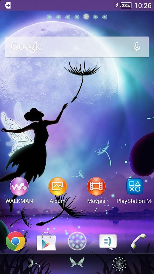 XPERIA™ Fantasy Theme- screenshot