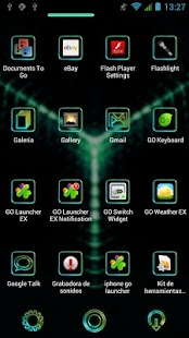 Glow Next Launcher 3D Theme - screenshot thumbnail