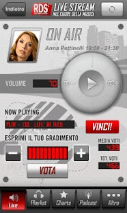RDS 100% Grandi Successi - screenshot thumbnail