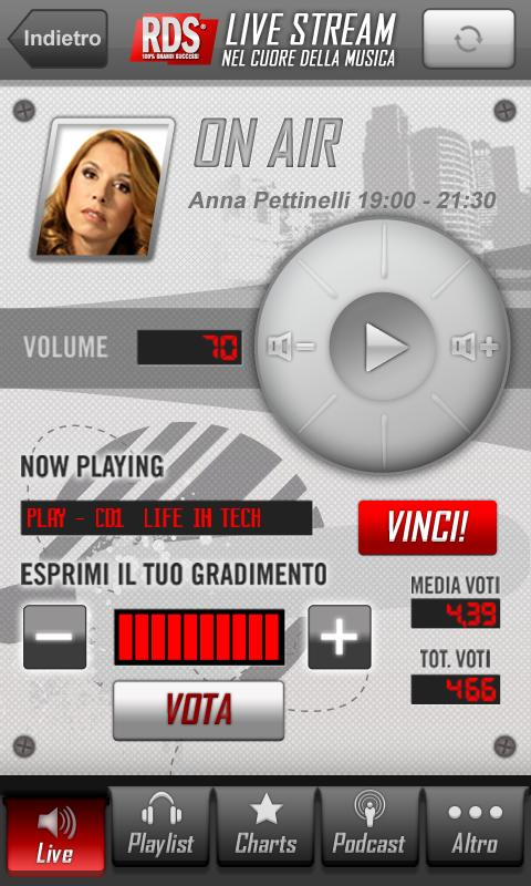 RDS 100% Grandi Successi - screenshot
