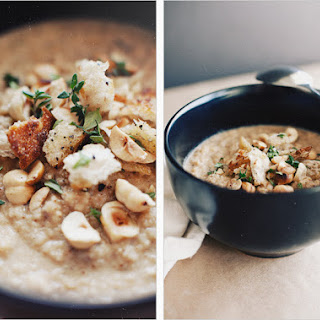 CARAMELIZED CAULIFLOWER SOUP