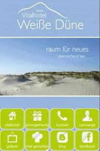 Hotel Weiße Düne- screenshot thumbnail