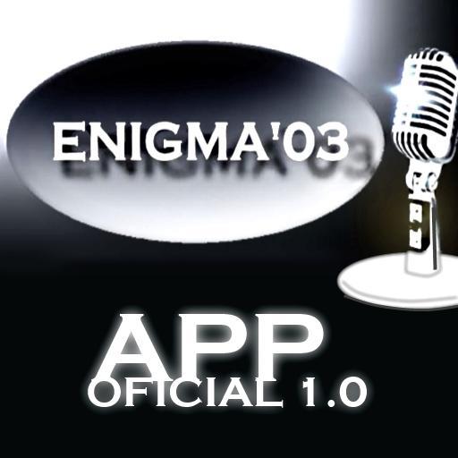ENIGMA03 - APP OFICIAL LOGO-APP點子