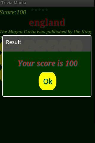 Trivia Mania screenshot #7