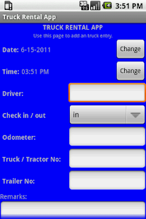 Truck Rental App- screenshot thumbnail