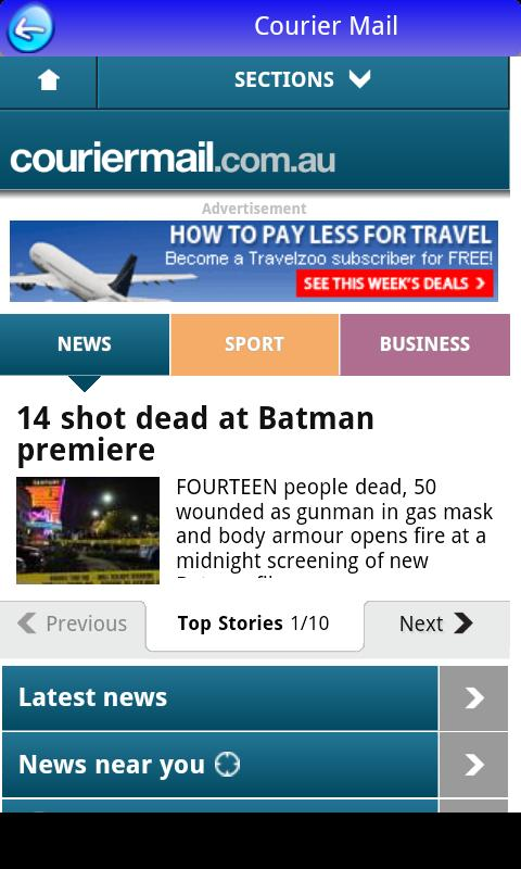Australia News in App FREE - screenshot