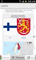 Screenshot of Kaikki Suomi Sanakirja