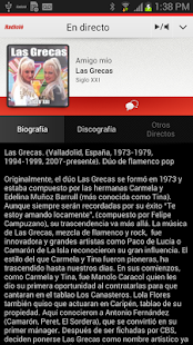 Radiolé for Android - screenshot thumbnail