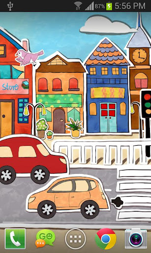 Paperland Live Wallpaper 1.3.4 screenshots 3