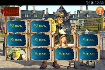 Memory Game: Shrek Android Entertainment