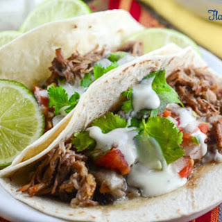Zesty Ranch Slow Cooker Carnitas - A Simple Budget Friendly Meal