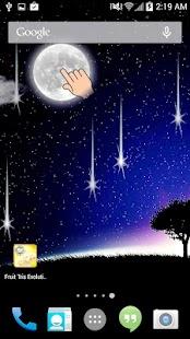 月亮和星星的背景活