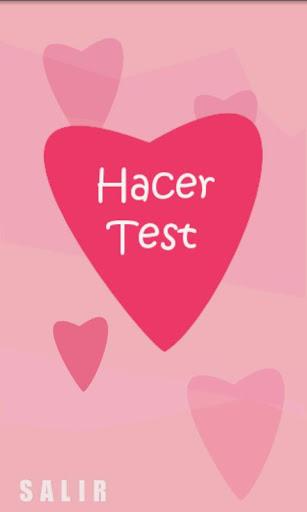 Test para encontrar el amor.