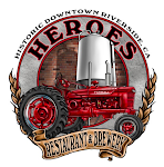 Logo for Heroes Restaurant & Brewery