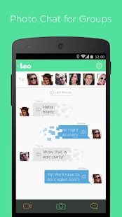 Leo: Photo Chat for Groups - screenshot thumbnail