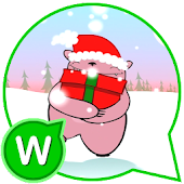 Christmas fun emoji messages