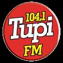 Tupi FM 104.1 MHz São Paulo logo