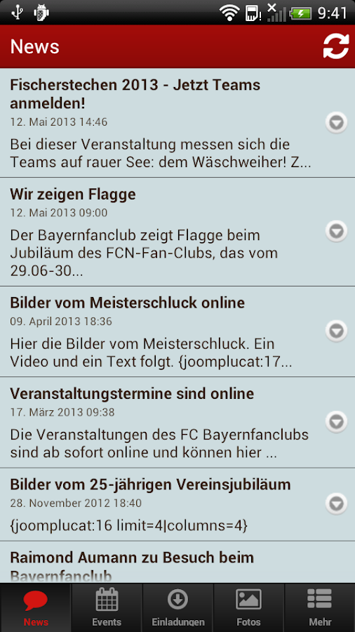 FCB Heideck - screenshot