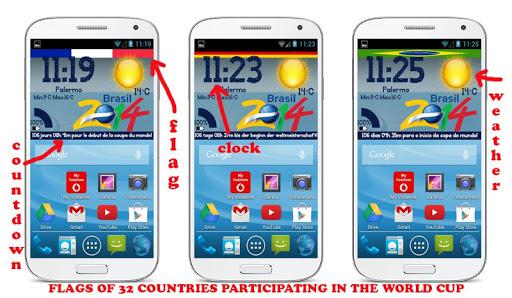 【免費個人化App】Zooper Widget Brasil 2014-APP點子