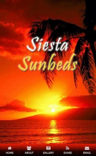 Siesta Sunbeds