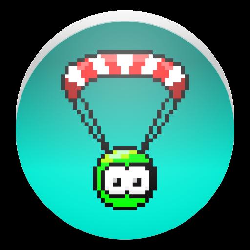 擺動降落傘藍天賽車 街機 LOGO-玩APPs