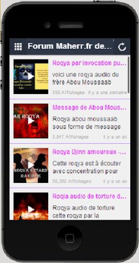 Forum Maher.fr