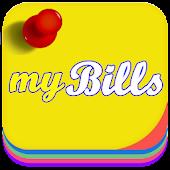 myBills with sync