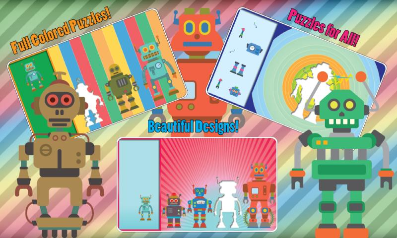 Robot Puzzle- screenshot